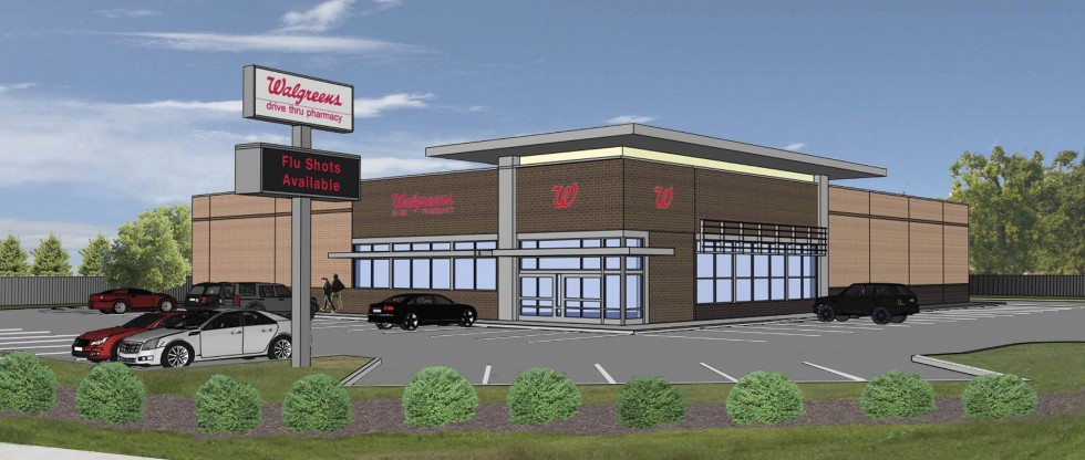 Walgreens Elevation  Rendering